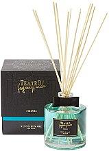 Parfumuri și produse cosmetice Difuzor de aromă pentru casă - Teatro Fragranze Uniche Vento di Mare with Sticks