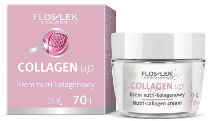 Cremă de față cu colagen 70+ - Floslek Collagen Up Nutrii-collagen Cream 70+