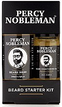 Parfumuri și produse cosmetice Set - Percy Nobleman Beard Starter Kit (beard/shm/30ml + beard/oil/10ml)