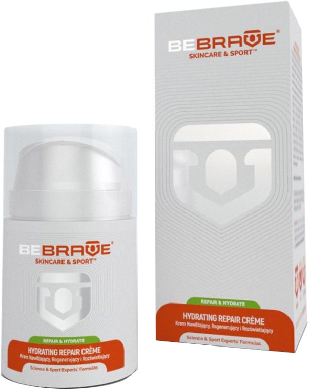Crema de față regenerantă și hidratantă - BeBrave Hydrating Repair Creme — Imagine N1