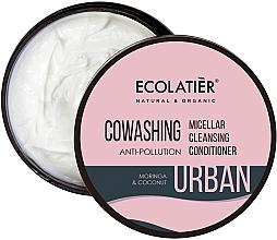 """Parfumuri și produse cosmetice Balsam micelar de păr """"Moringa și nucă de cocos"""" - Ecolatier Urban Micellar Cleansing Conditioner"""