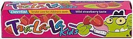 """Parfumuri și produse cosmetice Pastă de dinți """"Căpșune"""" - Dental Tra-La-La Kids Strawberry Toothpaste"""