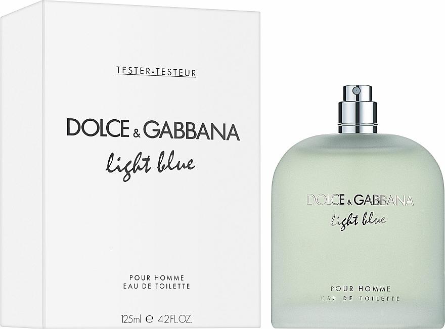 Dolce & Gabbana Light Blue Pour Homme - Apă de toaletă (tester fără capac) — Imagine N2