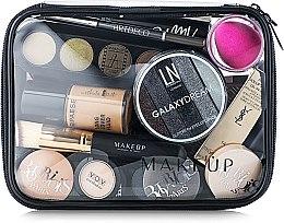 """Parfumuri și produse cosmetice Trusă cosmetică incoloră """"Visible Bag"""" 20x15x6 cm (fără produse) - MakeUp"""
