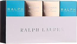 Parfumuri și produse cosmetice Ralph Lauren Mini Gift Set For Women - Set (edt/2x7ml + edp/2x7ml)