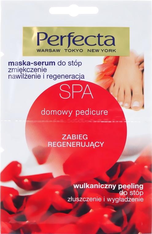 Mască cu efect de peeling pentru picioare - Perfecta Spa Foot Peeling