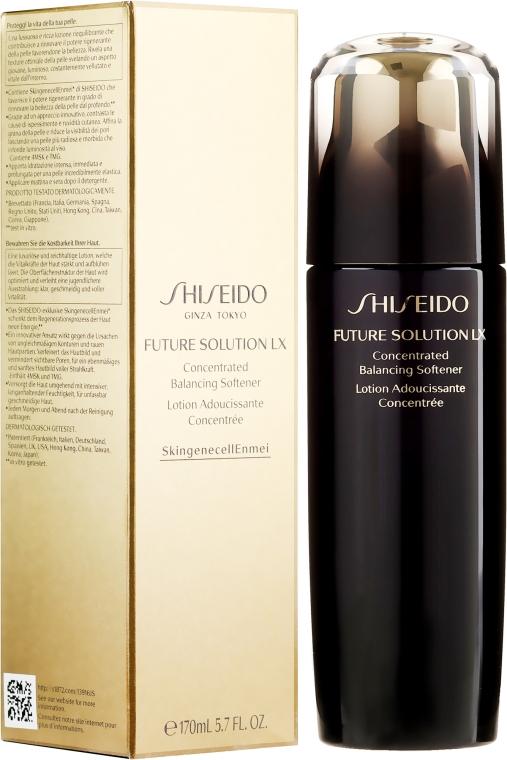 Loțiune hidratantă pentru față - Shiseido Future Solution LX Concentrated Balancing Softener — Imagine N1