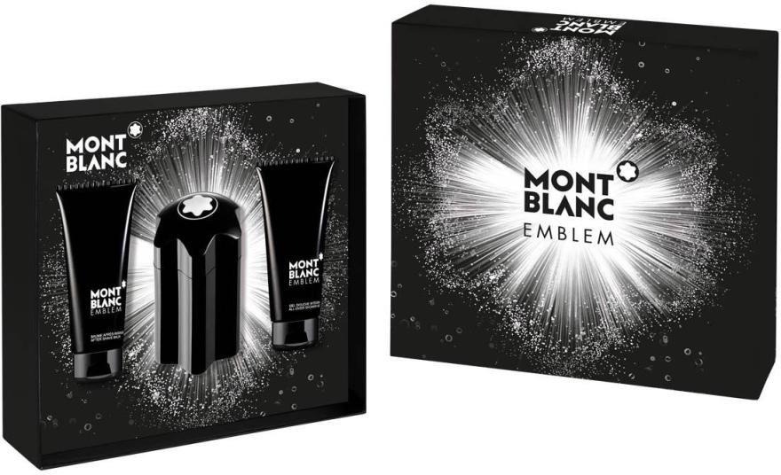 Montblanc Emblem - Set (edt/100ml + asb/100ml + sh/gel/100ml)  — Imagine N1