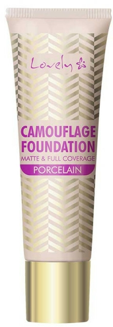Fond de ten - Lovely Camouflage Foundation — Imagine N1