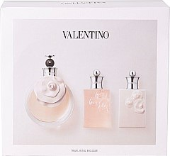 Parfumuri și produse cosmetice Valentino Valentina - Set (edp/80ml + sh/gel/50ml + b/l/50ml)