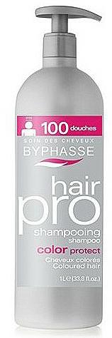 Șampon pentru protecția părului vopsit - Byphasse Hair Pro Shampoo Color Protect — Imagine N1
