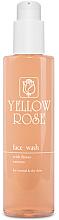 Parfumuri și produse cosmetice Gel de curățare cu extracte de flori pentru ten uscat și normal - Yellow Rose Face Wash With Flower Extracts