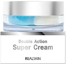 Parfumuri și produse cosmetice Cremă de față - Real Skin Double Action Super Cream