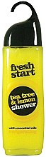 Parfumuri și produse cosmetice Gel de duș - Fresh Start Shower Gel Tea Tree & Lemon