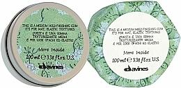 Parfumuri și produse cosmetice Gel de păr - Davines More Inside Medium Hold Finishing Gum