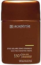 Parfumuri și produse cosmetice Stick protecție solară pentru zone sensibile - Academie Sun Stick Sensitive Areas SPF 50+