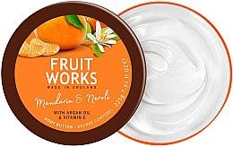 """Parfumuri și produse cosmetice Unt de corp """"Mandarină și Neroli"""" - Grace Cole Fruit Works Body Butter Mandarin & Neroli"""