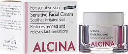 Parfumuri și produse cosmetice Cremă de față pentru ten sensibil - Alcina S Sensitive Facial Cream