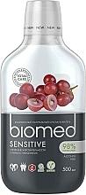 """Parfumuri și produse cosmetice Apă de gură pentru respirație proaspătă """"Struguri"""" - Biomed Sensitive"""