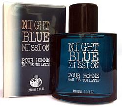 Parfumuri și produse cosmetice Real Time Night Blue Mission Pour Homme - Apă de toaletă