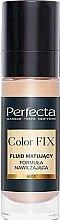 Parfumuri și produse cosmetice Fond mat de ten - Perfecta Color Fix Make-Up Mattifing Fluid