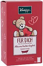 Parfumuri și produse cosmetice Set - Kneipp Kids (bath/salt/4 x 60g)