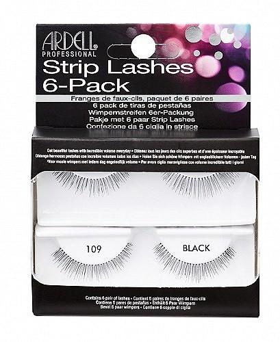 Gene false - Ardell Natural Eye Lashes Black 6 Pack 109 — Imagine N2