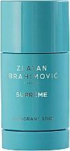 Parfumuri și produse cosmetice Zlatan Ibrahimovic Supreme Pour Homme - Deodorant-Stick