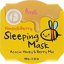 Parfumuri și produse cosmetice Mască nutritivă cu miere și fructe de pădure - Prreti Honey & Berry Sleeping Mask