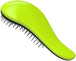 Parfumuri și produse cosmetice Perie pentru detangularea părului - KayPro Dtangler Green Black Brush