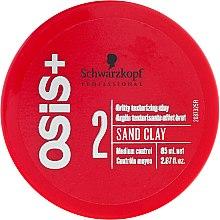 Parfumuri și produse cosmetice Argilă pentru modelarea părului - Schwarzkopf Professional Osis+ Texture Sand Clay