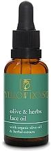 Parfumuri și produse cosmetice Ulei de față - Yellow Rose Olive And Herbs Face Oil