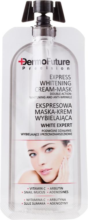 Cremă-mască iluminantă pentru față - Dermofuture White Expert Cream-mask