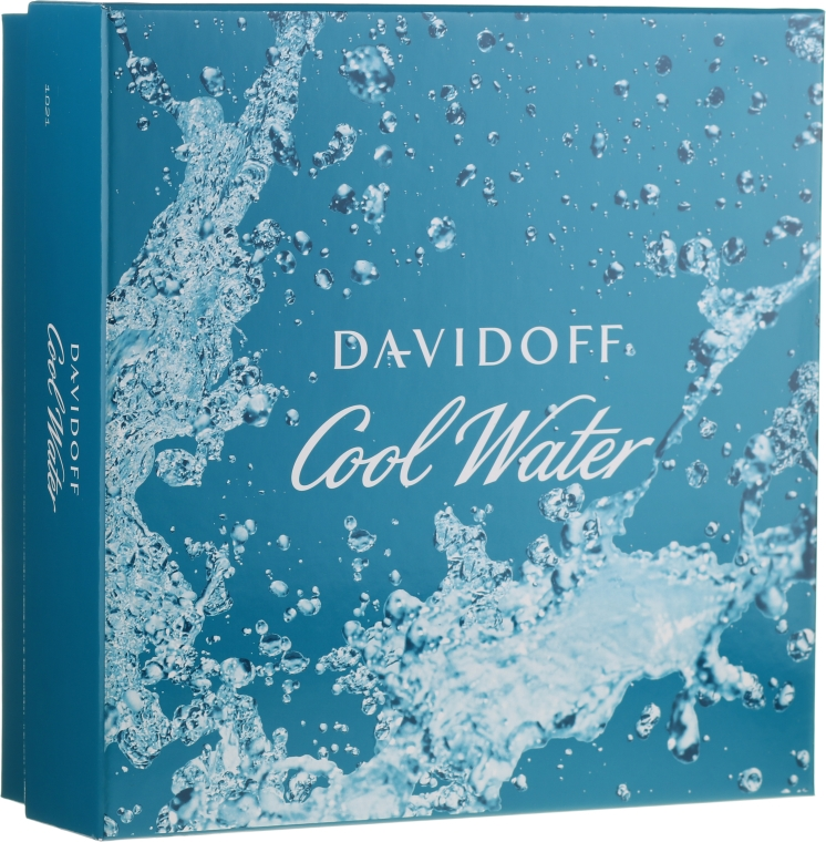 Davidoff Cool Water - Set (edt/75ml + sh/gel/50ml + ash/balm/50ml)  — Imagine N1