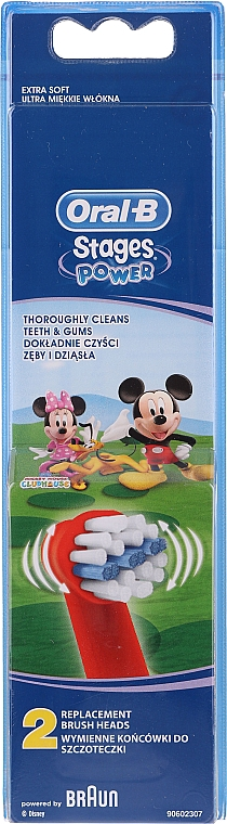 Rezerve pentru periuța de dinți pentru copii EB10, Mickey - Oral-B Stages Power Disney — Imagine N1