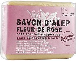 Parfumuri și produse cosmetice Săpun Aleppo cu aromă de trandafir - Tade Aleppo Rose Flower Scented Soap