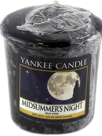 Lumânare aromatică - Yankee Candle Midsummer Night Votive — Imagine N1