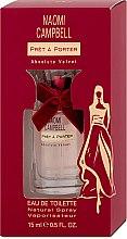 Parfumuri și produse cosmetice Naomi Campbell Pret a Porter Absolute Velvet - Apă de toaletă (Mini)