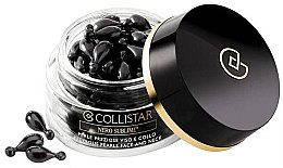 Parfumuri și produse cosmetice Fiole pentru față și gât - Collistar Nero Sublime Precious Pearls Face And Neck