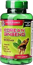 "Parfumuri și produse cosmetice Supliment alimentar ""Ginseng coreean"" - Holland & Barrett Korean Ginseng 500mg"