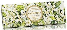 "Set săpunuri ""Iasomie"" - Saponificio Artigianale Jasmine Scented Soap (soap/3pcsx100g) — Imagine N1"