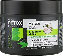 Parfumuri și produse cosmetice Mască-detox pentru păr, cu cărbune negru și extract de frunze de neem - Vitex Detox Therapy