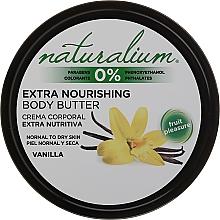 Parfumuri și produse cosmetice Ulei pentru corp - Naturalium Vainilla Extra Nourishing Body Butter