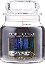 Parfumuri și produse cosmetice Lumânare aromată, în borcan- Yankee Candle Dreamy Summer Nights