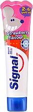 Parfumuri și produse cosmetice Pastă de dinți cu aromă de căpșună pentru copii - Signal Kids Toothpaste