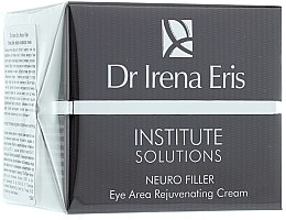 Parfumuri și produse cosmetice Cremă anti-îmbătrânire pentru zona din jurul ochilor - Dr Irena Eris Institute Solutions Neuro Filler Eye Area Rejuvenating Cream