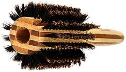 Perie Brushing de bambus, cu peri naturali, d.40 - Olivia Garden Healthy Hair Boar Eco-Friendly Bamboo Brush — Imagine N2