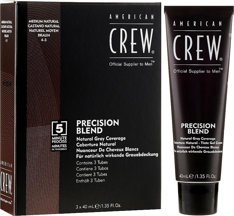 Sistem de mascare pentru părul cărunt - American Crew Precision Blend Shades — Imagine N1