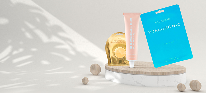 La achiziționarea produselor Kocostar începând cu suma de 60 RON, primești cadou o mască facială