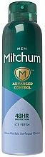 Parfumuri și produse cosmetice Deodorant-spray, pentru bărbați - Mitchum Men Ice Fresh 48hr Anti-Perspirant